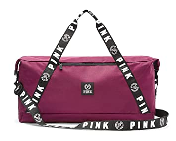 Image Unavailable. Image not available for. Color  Victoria s Secret PINK  Weekender Duffle 23 quot  Gym Bag ... 10233c439652b
