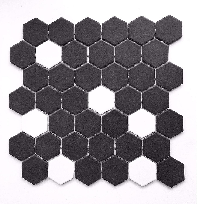 - Black And White Hexagon 2