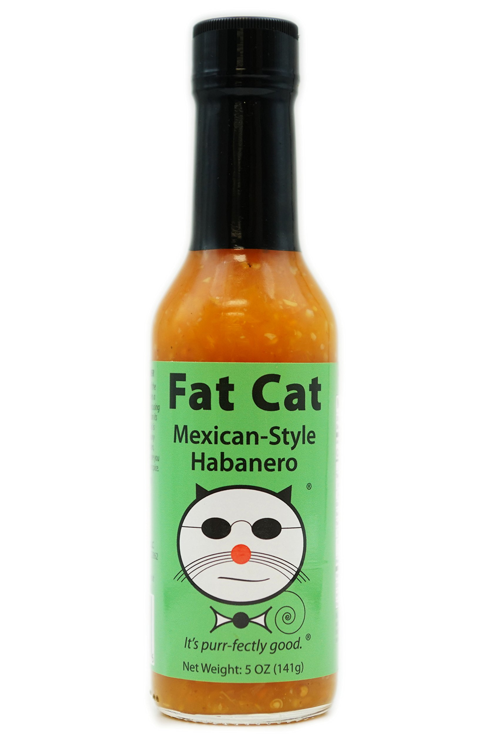 Fat Cat - Mexican-Style Habanero Hot Sauce sold by Fat Cat Gourmet Foods