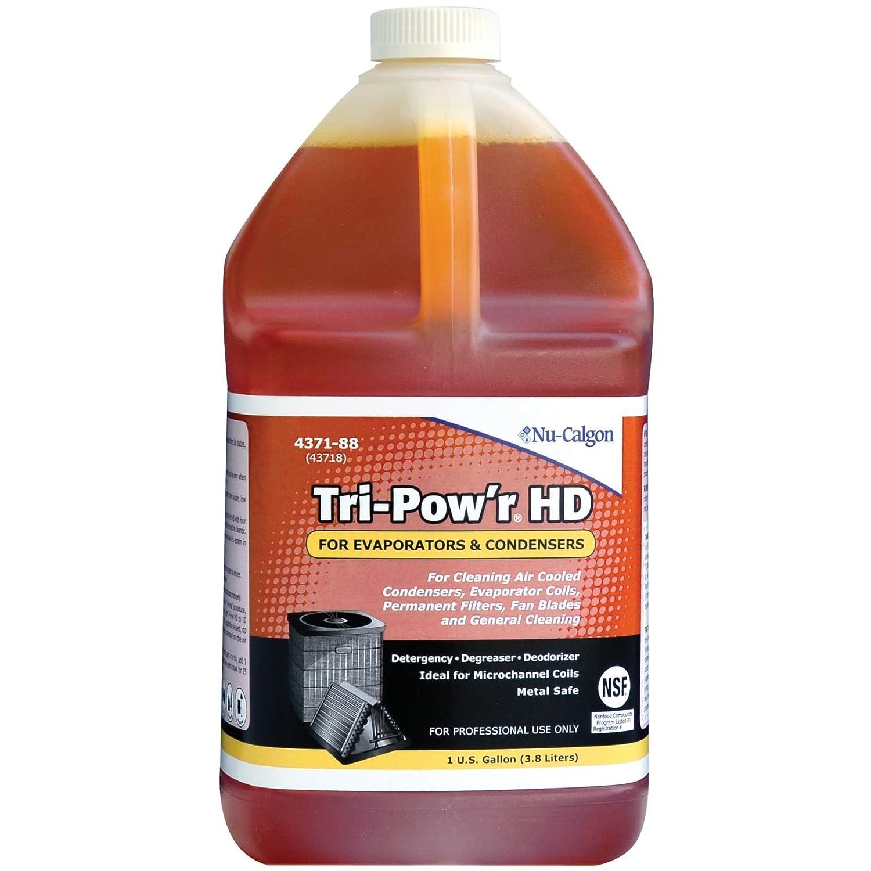 NU-CALGON 4371-88 TRI-POW'R HD GALLON COIL CLEANER (SAFE FOR MICROCHANNEL) MC347928
