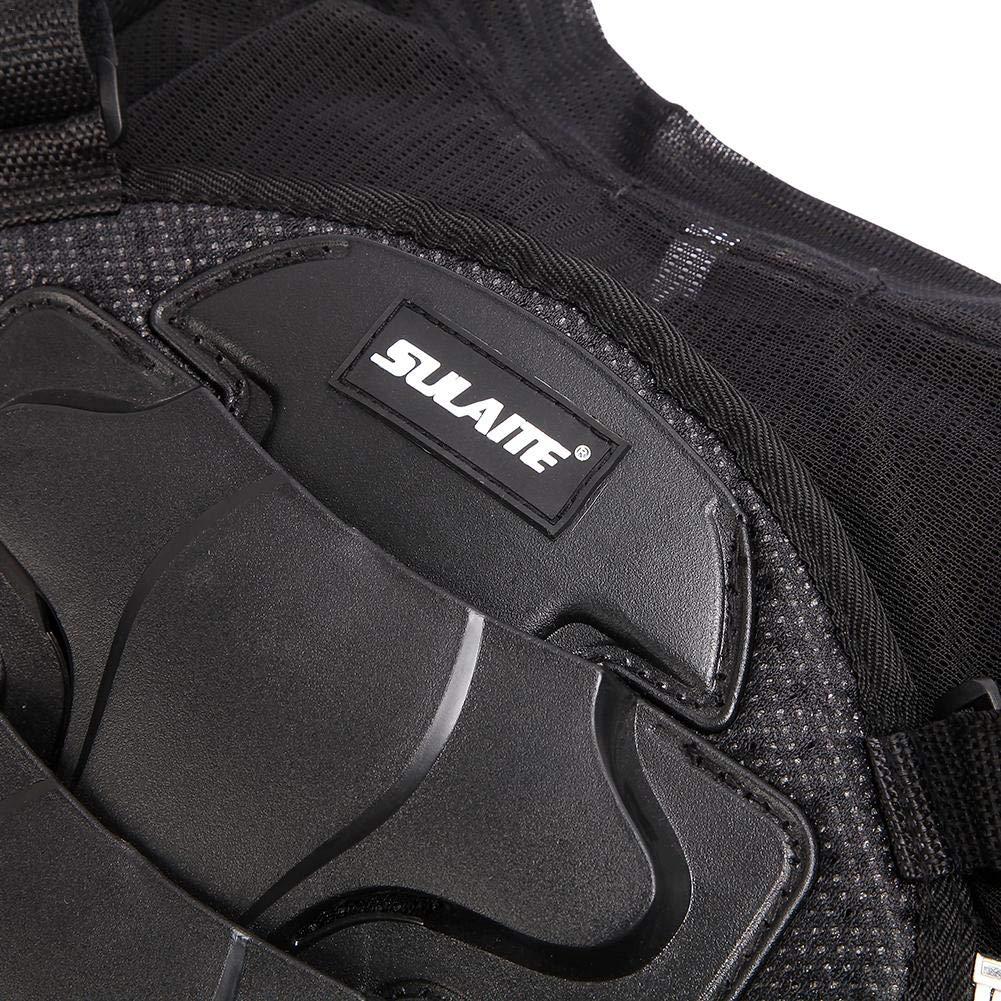 Erwachsene Dirt Bike Body Brust R/ückenprotektor Katurn Motorrad-Schutzweste Sport Motocross MTB Racing /Ärmellose R/üstung Weste XXXL