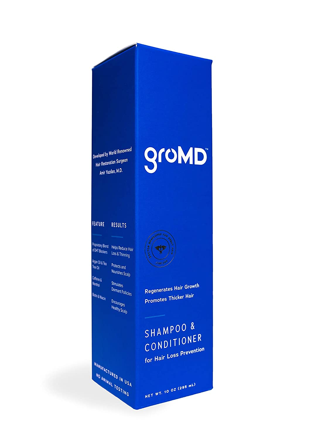 GroMD Doctor Developed Hair