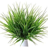 MIHOUNION 4 Pcs Plantas verdes artificiales de plástico