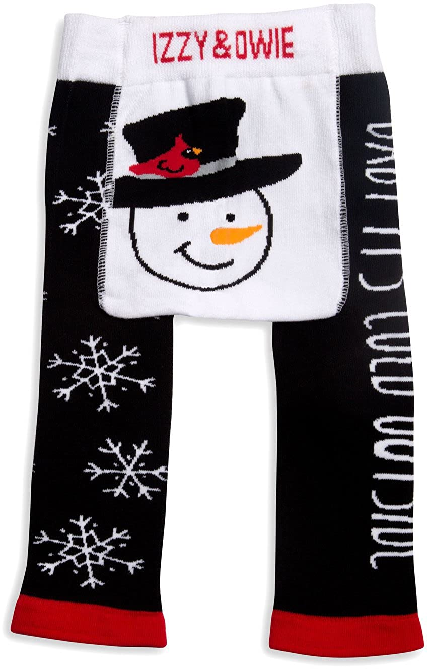 Izzy & Owie - Snowman Christmas 12-24 Month Unisex Baby Leggings Pavilion Gift Company