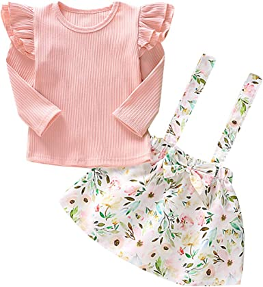 Big//Little Sister Matching Set Baby Girl Lace Floral Romper Dress Summer Clothes