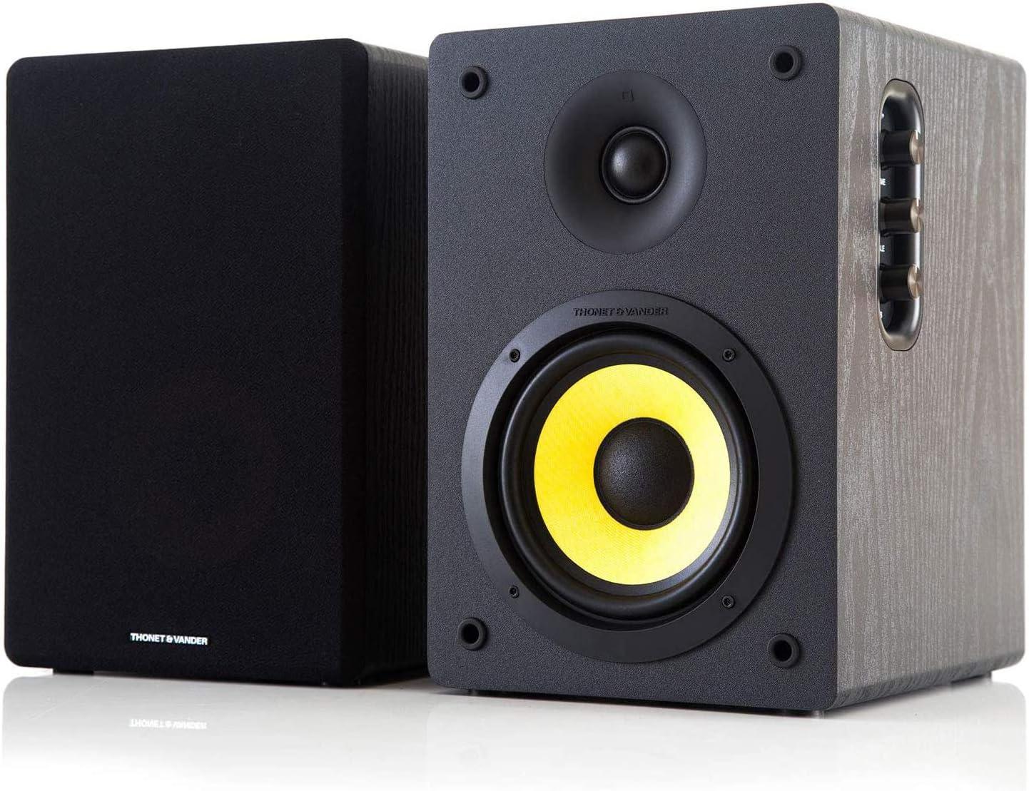 Altavoces Thonet /& Vander Kurbis BT HK09603556 Universal, De 2 v/ías, Piso, Mesa//estante, 60 W, 50-20000 Hz, 6 Ohmio