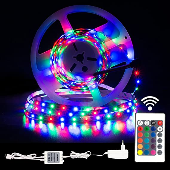 Led Strip Led 5m 16 4ft Light Strip Rgb Multi Colored Tv
