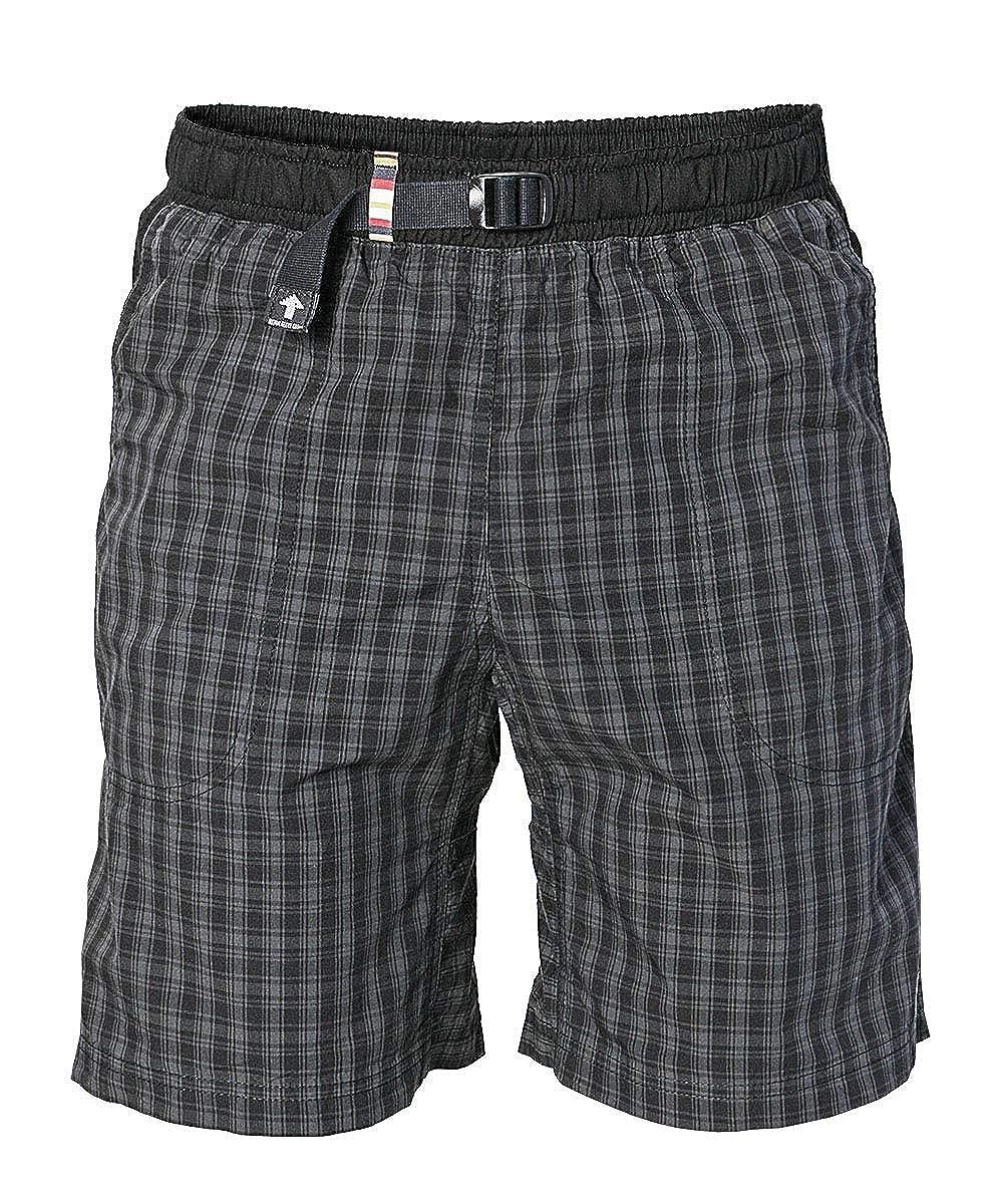 gris Fonce M REJOICE courtes Moth Boulder Pantalon pour Homme et Femme - Pantalon de plein air pour Escalade, Trekking, randonnée pédestre