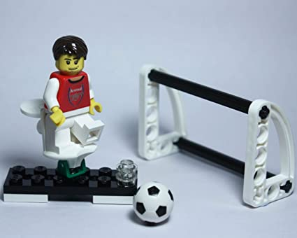 Amazon com: Arsenal Football Club custom Lego minifigure