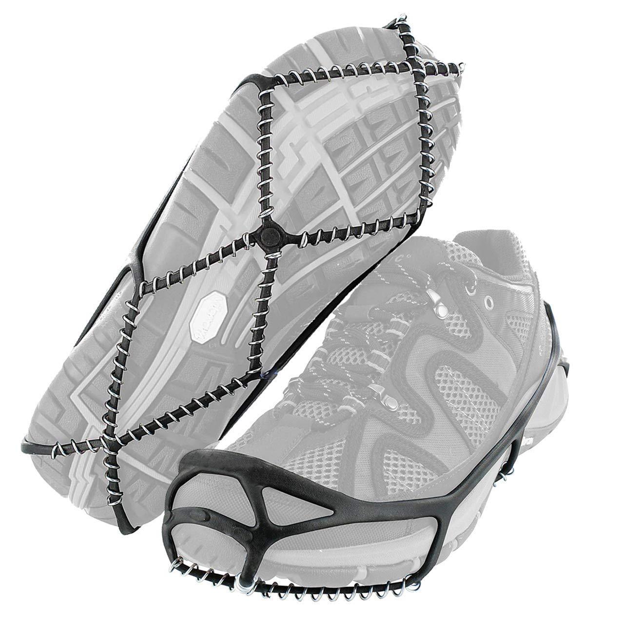 Crampon Antidérapent,Crampons pour chaussures, Marchez Sur Les Crampons de Traction Pour Marcher Sur La Neige et La Glace Third A