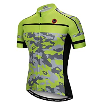 ba87d858463 weimo Star Ciclismo Jersey Hombres Mountain Bike Camiseta Full Zip Bicicleta  Camiseta Unidad Extremo Top Road
