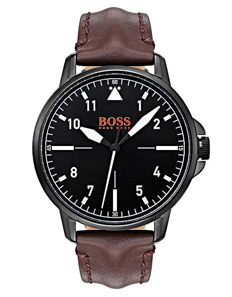 Hugo Boss Orange Reloj Analógico para Hombre de Cuarzo con Correa en Cuero 1550062