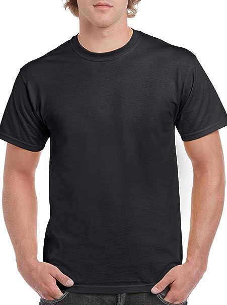 Gildan gd005 - Camiseta Heavy Cotton Negro Medium: Amazon.es: Ropa y accesorios