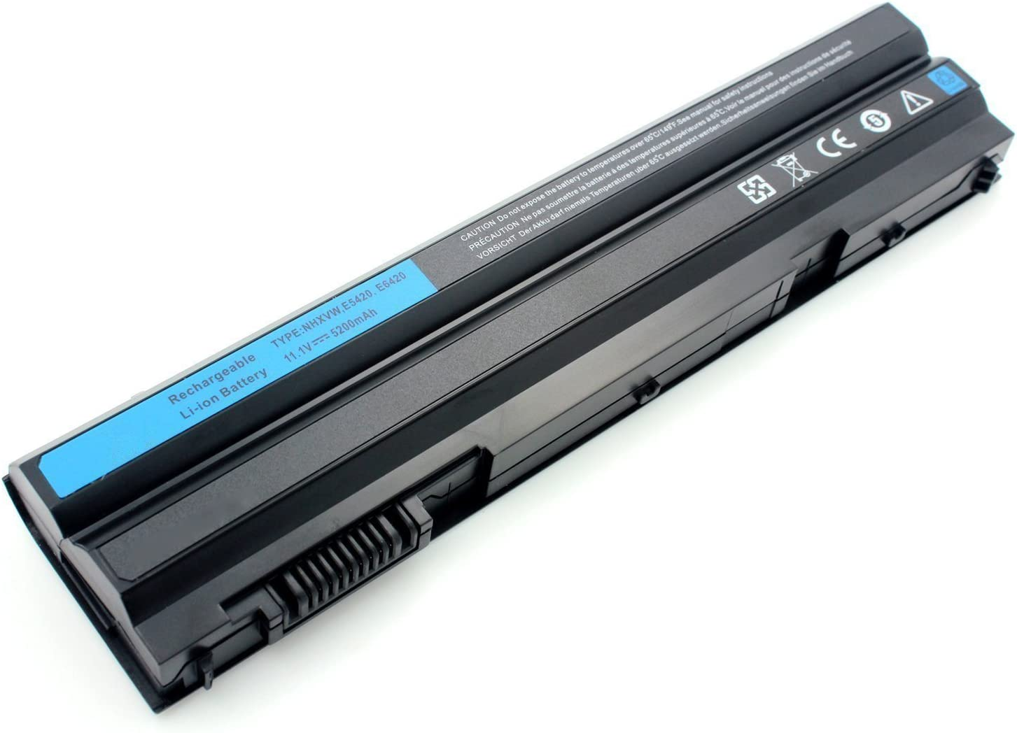 Alliboo Laptop Battery 60Wh 11.1V for Dell Latitude E6420 E6430 E6520 E6530 E5420 E5520 E5430 E5530 4YRJH 8858X KJ321 M5Y0X P8TC7 P9TJ0 R48V3 RU485 T54F3 T54FJ