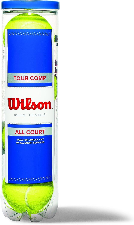 Champ Extra Duty 4er Dose Wilson Tennisb/älle F/ür alle Bel/äge