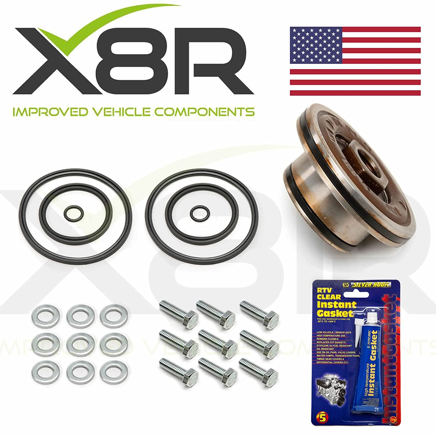 BMW DOUBLE TWIN DUAL VANOS SEALS UPGRADE REPAIR SET KIT M52 M54 M56 11361440142 PART: X8R28