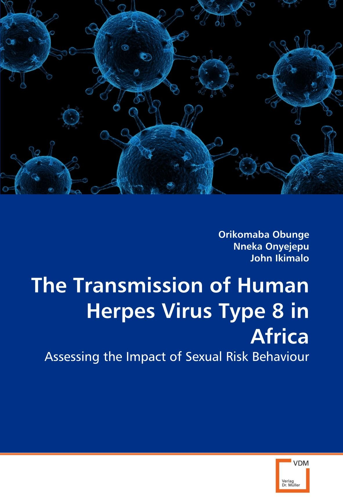 The Transmission of Human Herpes Virus Type 8 in Africa: Assessing the Impact of Sexual Risk Behaviour PDF