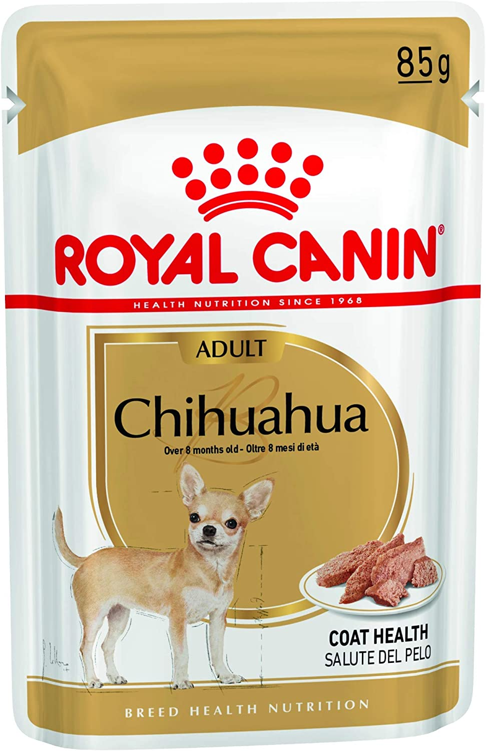 Royal Canine Adult Chihuahua Pouch - Caja 12 x 85 g (1020 g)
