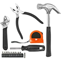 com-four® Divers Ensembles d'outils pour Artisans, bricoleurs et Amateurs