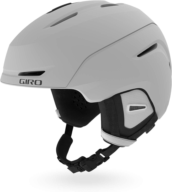 S Matte Light Grey Giro Snow Unisex/ Erwachsene NEO Skihelm