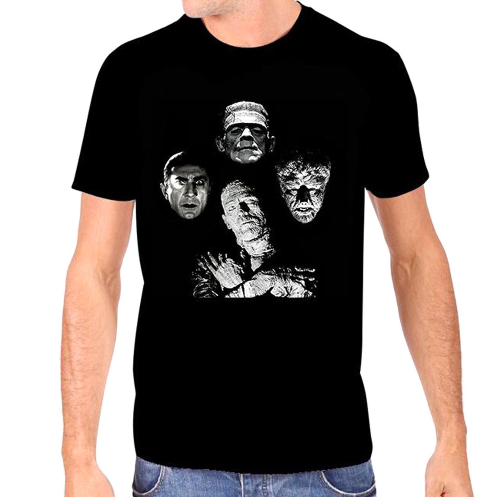 Universal Monsters S Horror Band Tshirt