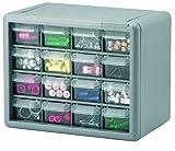 Akro-Mils 10716 16-Drawer Plastic Parts Storage