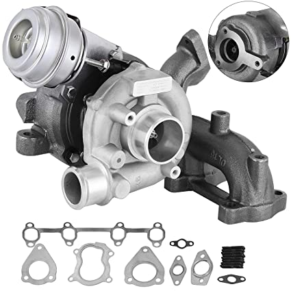 Mophorn Gt1749v Turbo Kit With Top Quality Turbocharger Gaskets Fits Vw 1 9l Tdi Alh