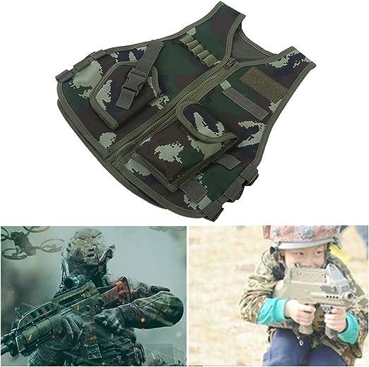 Chaleco Táctico para Niños Tipo Camuflaje Guardia de Seguridad ...