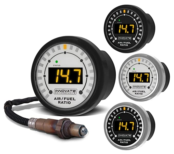 Innovate 3844 MTX-L Complete All-in-One Air/Fuel Ratio Gauge Kit ...