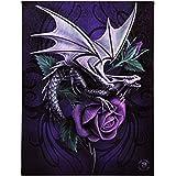 Anne Stokes Toile Motif Dragon Beauty Plaque