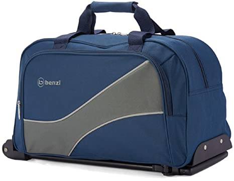Benzi - Bolso de viaje BZ4853 (Azul/Gris)