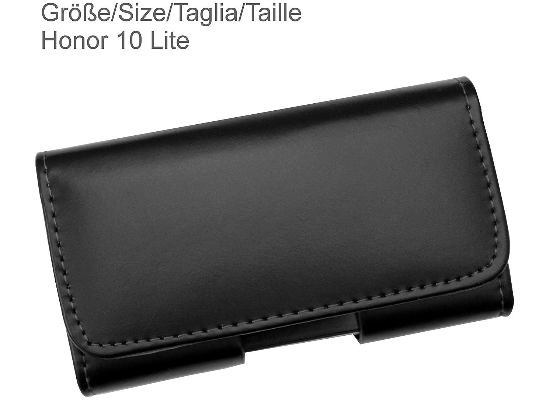 Linea Premium P8 Lite in Vera Pelle con Clip per Cintura e Chiusura Magnetica P9 Lite P9 P8 AQ Mobile Custodia per Huawei P10