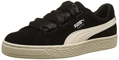 new concept f0598 16d10 Amazon.com | PUMA Girl's Suede Heart Jewel Trainers US5 ...