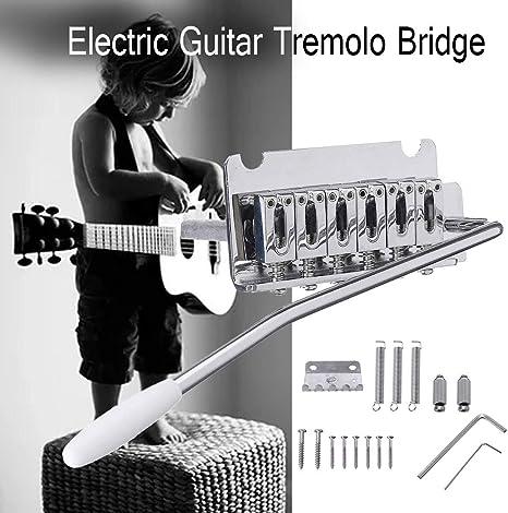 ST Puente de trémolo para guitarra eléctrica con bloque de acero ...