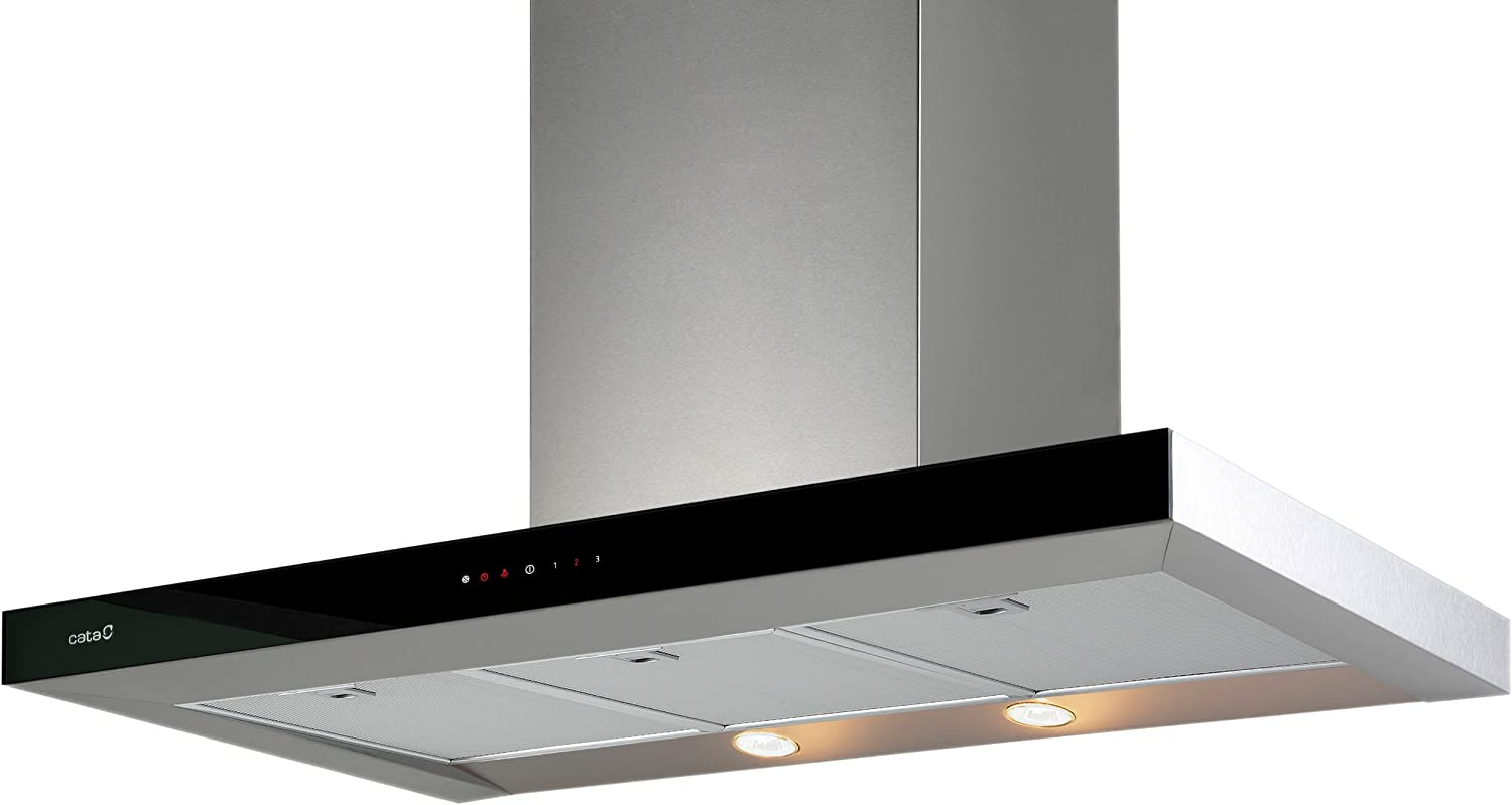 CATA Selene 820 m³/h De pared Acero inoxidable - Campana (820 m³/h, Canalizado, 51 dB, 58 dB, 67 dB, De pared): Amazon.es: Hogar