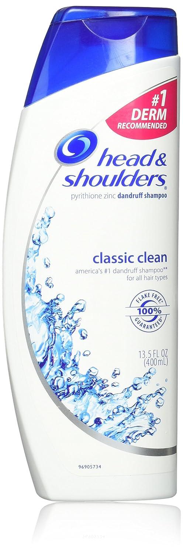 Head & Shoulders Classic Clean Dandruff Shampoo 13.5 Oz (Pack of 2)