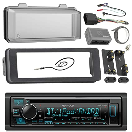 98-2013 Kenwood Harley Touring Install Adapter Dash Kit FLHT FLHTC on aftermarket stereo adapter box, aftermarket wire harness, aftermarket radio with navigation, aftermarket radio connectors, aftermarket radio antenna, aftermarket stereo color codes, 2012 dodge ram radio harness, stereo harness, aftermarket engine harness, jvc radio harness,