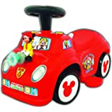 Kiddieland Toys Limited 2-in-1 Battery-Foot Powered Mickey Fire-Truck Ride On