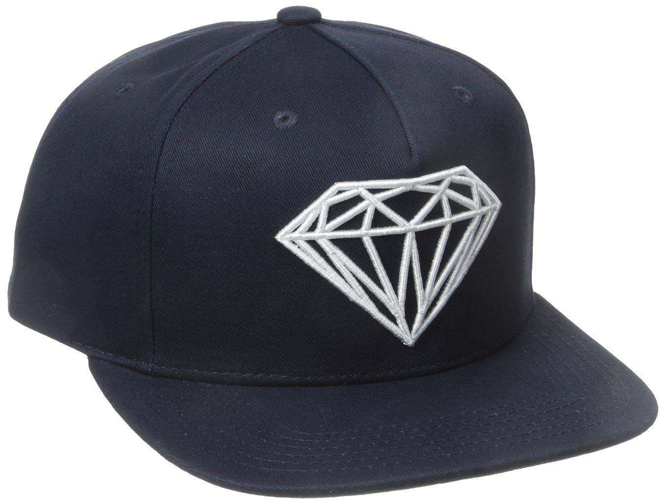 competitive price bcdec 2e95c ... usa amazon diamond supply co. mens brilliant snapback black one size  clothing 7b2f9 aa285