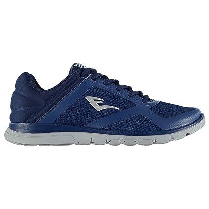 Zapatillas deportivas originales Everlast Basic Flex para hombre, color azul marino y azul, azul