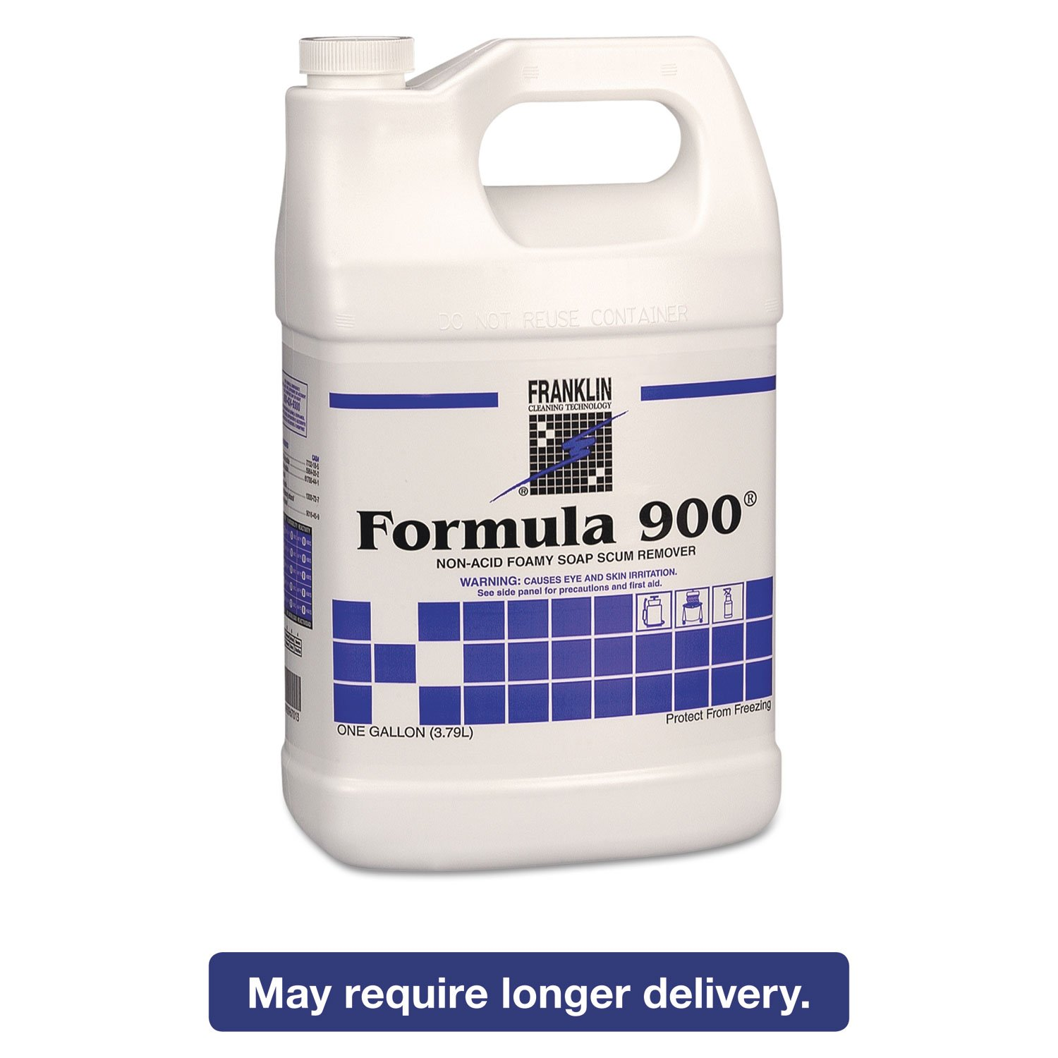 Franklin Cleaning Technology F967022 Formula 900 Soap Scum Remover, 1 Gallon (Pack of 4) by Fuller Commercial Products