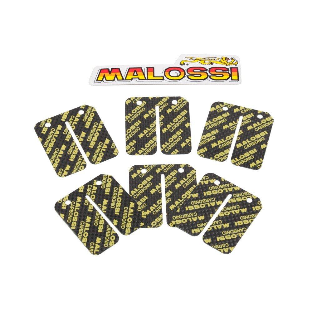 Carbonmembranzungen Malossi 6-teiliger Satz 0,25 0,30mm 0,35mm