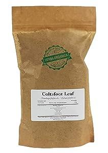 Coltsfoot Leaf - Tussilago Farfara L # Herba Organica # Horse Foot, Foalswort, Coughwort, Bull's Foot (100g)