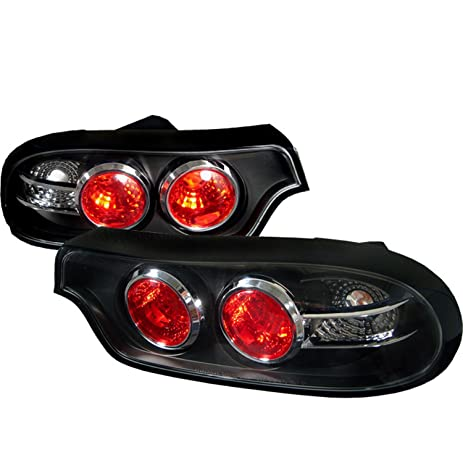 Spyder Auto Mazda RX7 Black Altezza Tail Light