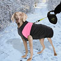 PaWz Dog Jacket Large Pet Jackets Coat Waterproof Clothes Winter Vest Pink 3XL 3XL 3XL