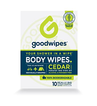 Natural Man Shower To-Go Cleansing Cloths - 30 Wipe(s) by Yes To (pack of 6) Burts Bees Renewal Cleanser, 6 Ounces