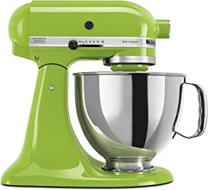 KitchenAid KSM150PSGA Artisan Series 5-Qt. Stand Mixer with Pouring Shield - Green Apple
