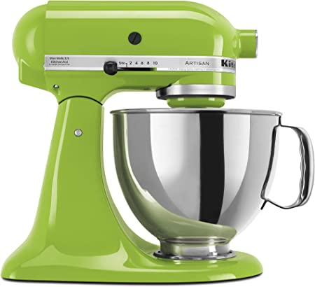 Amazon.com: KitchenAid KSM150PSGA Artisan Series 5-Qt. Stand Mixer with Pouring Shield - Green Apple: Electric Stand Mixers: Kitchen & Dining