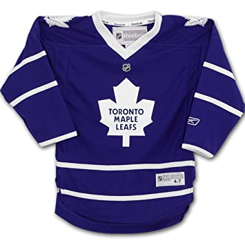 online store acb2b fc81a Reebok NHL Toronto Maple Leaf Replica Player Jersey