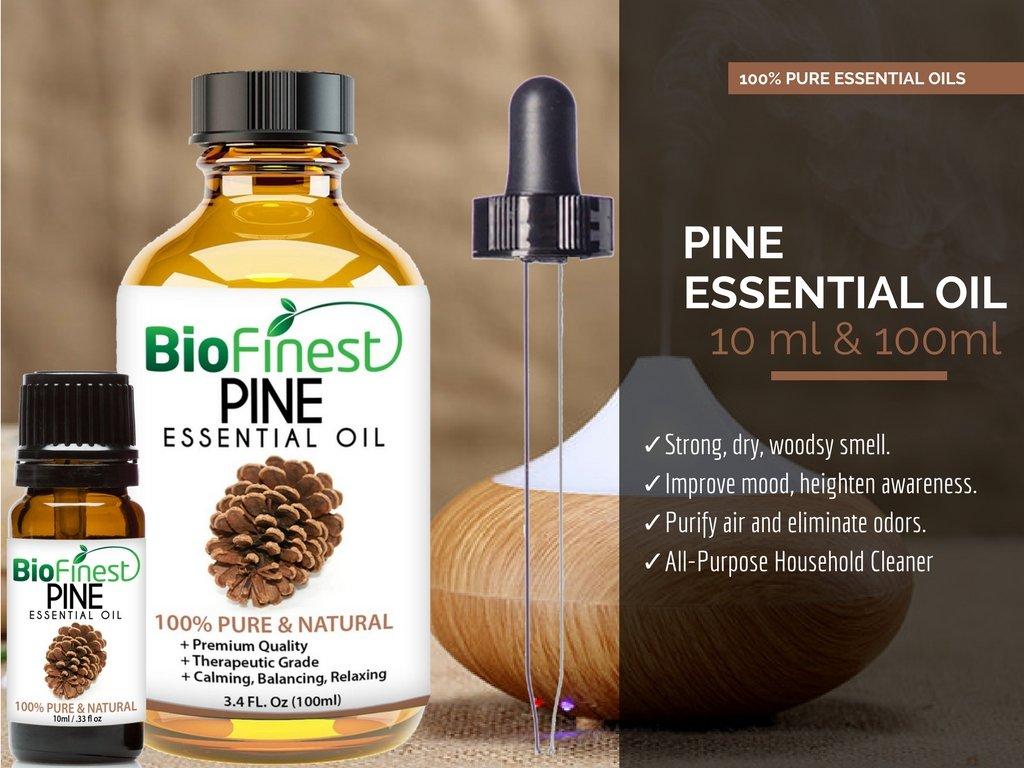 Amazon.com: BioFinest Pine Oil - 100% Pure Pine Essential Oil ...